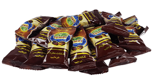 خرید شکلات خرمایی مغزدار