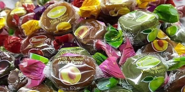 کارخانه تولید شکلات تافی