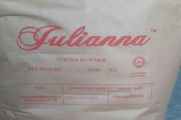 وارد کننده پودر کاکائو جولیانا مالزی